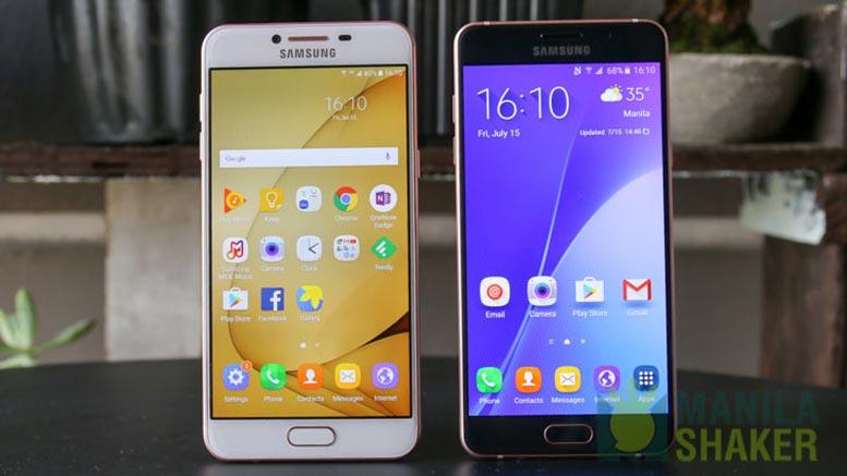 Vergleich zwischen Huawei P10 OnePlus 5 Samsung Galaxy