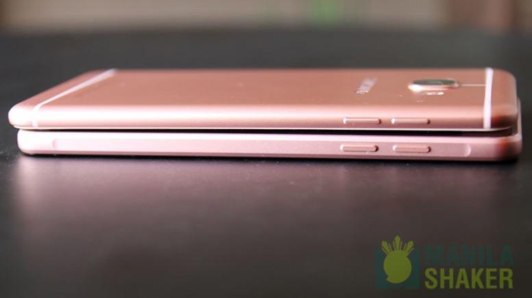 Samsung Galaxy C5 vs Galaxy A5 2016 Review Comparison PH Official 4