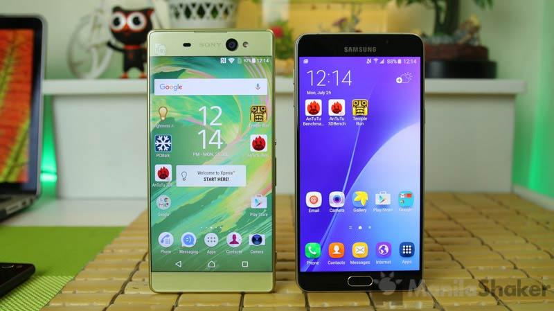 Sony Xperia Xa Ultra Vs Samsung Galaxy A9 Review