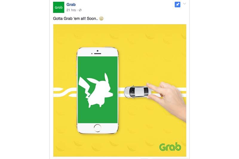 Pokemon Go Grab Telco Globe Smart Philippines