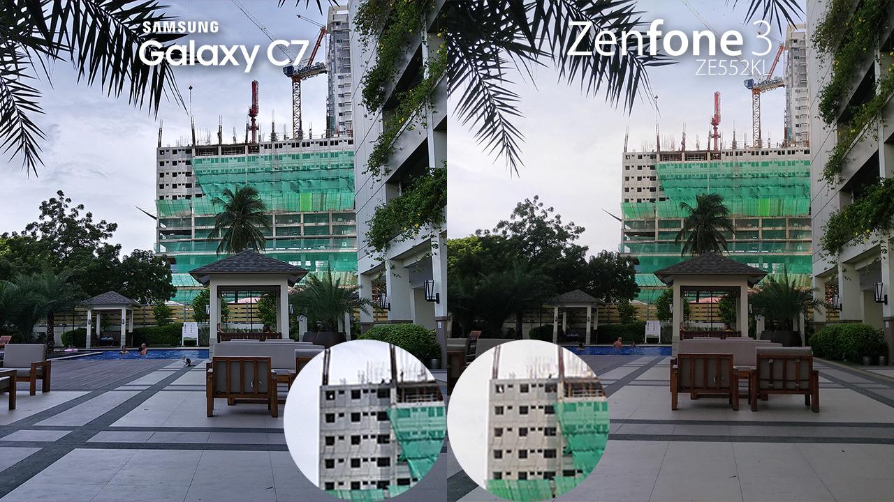 Samsung Galaxy C7 Vs Asus Zenfone 3 Camera Review 3