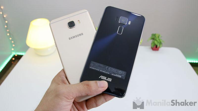 Samsung Galaxy C7 Vs Asus Zenfone 3 Camera Review