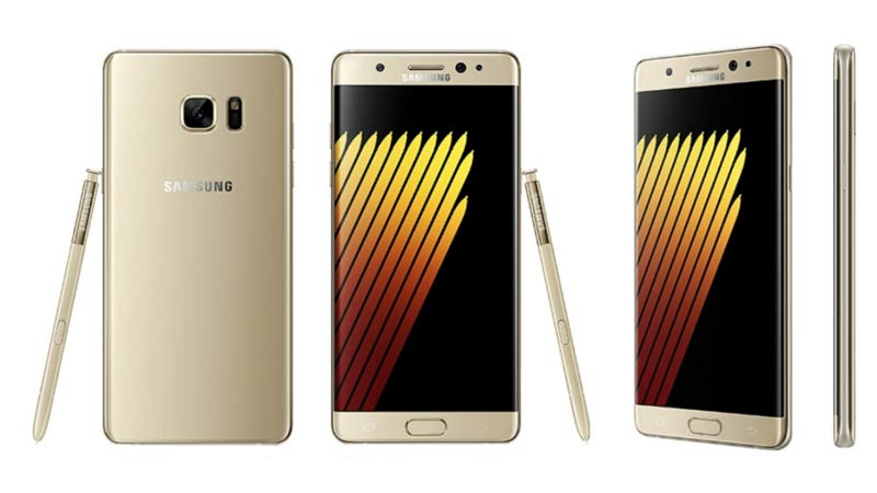 Samsung Galaxy Note 7 Gold