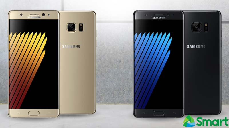 Smart Samsung Galaxy Note 7 Postpaid Plan Surf