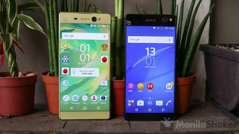 sony xperia xa ultra vs c5 ultra review comparison 8