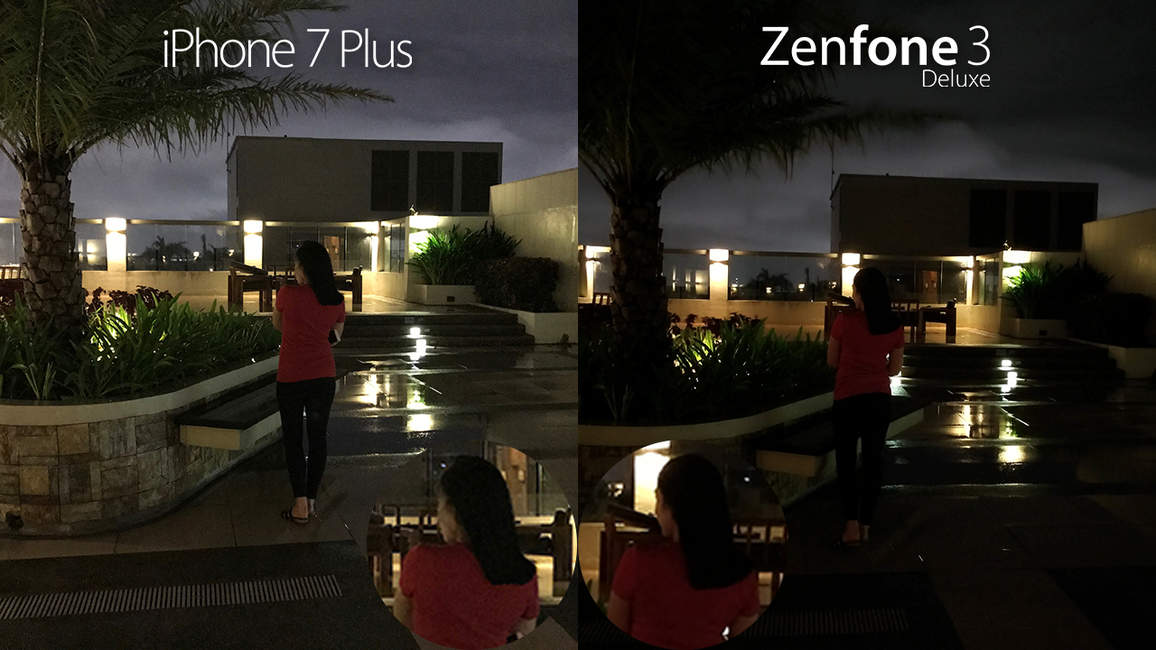 Iphone 7 Plus Vs Asus Zenfone 3 Deluxe Camera Comparison