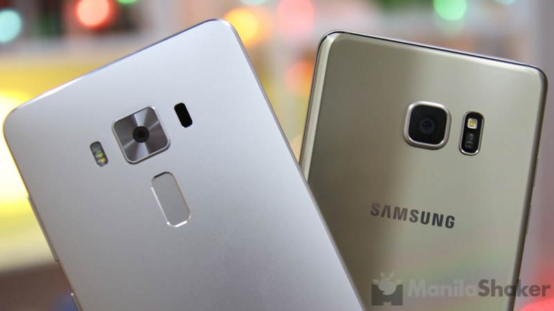 Asus Zenfone 3 Deluxe vs Samsung Galaxy Note 7 Comparison Camera Review Specs Price Philippines