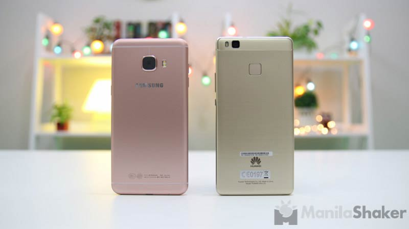 Samsung Galaxy C5 vs Huawei P9 Lite Comparison Camera Review Philippines Specs Price PH Available
