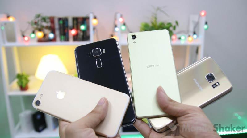 Iphone 7 vs samsung s7 benchmark