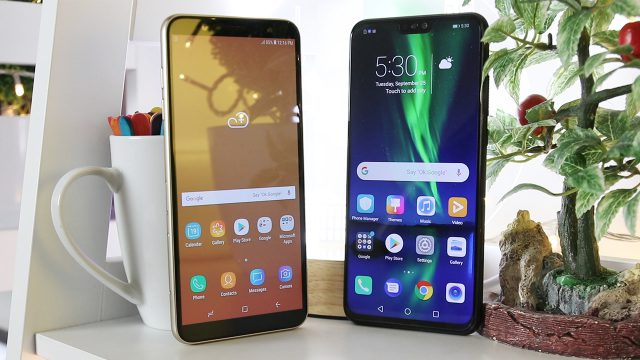 honor 8x vs samsung j8 photo 5 review philippines