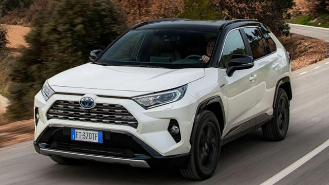 toyota rav4 2019 launched with 200 hp power  sporty design for p1 6m price