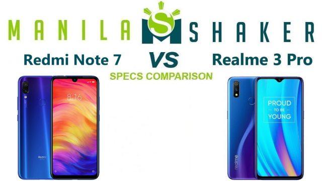 redmi-note-7-vs-realme-3-pro-Specs-Comparison