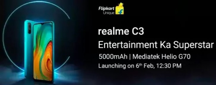realme-c3-with-helio-g70-5000mah-launching-on-february-6-photo-3