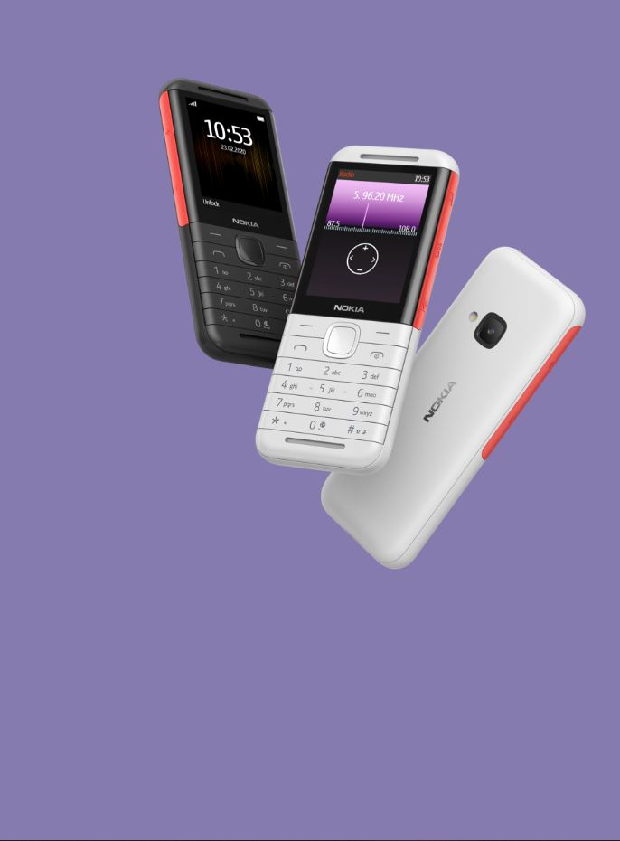 nokia5310_Nokia 5310 With Stereo Speakers is an XpressMusic throwback for P2000