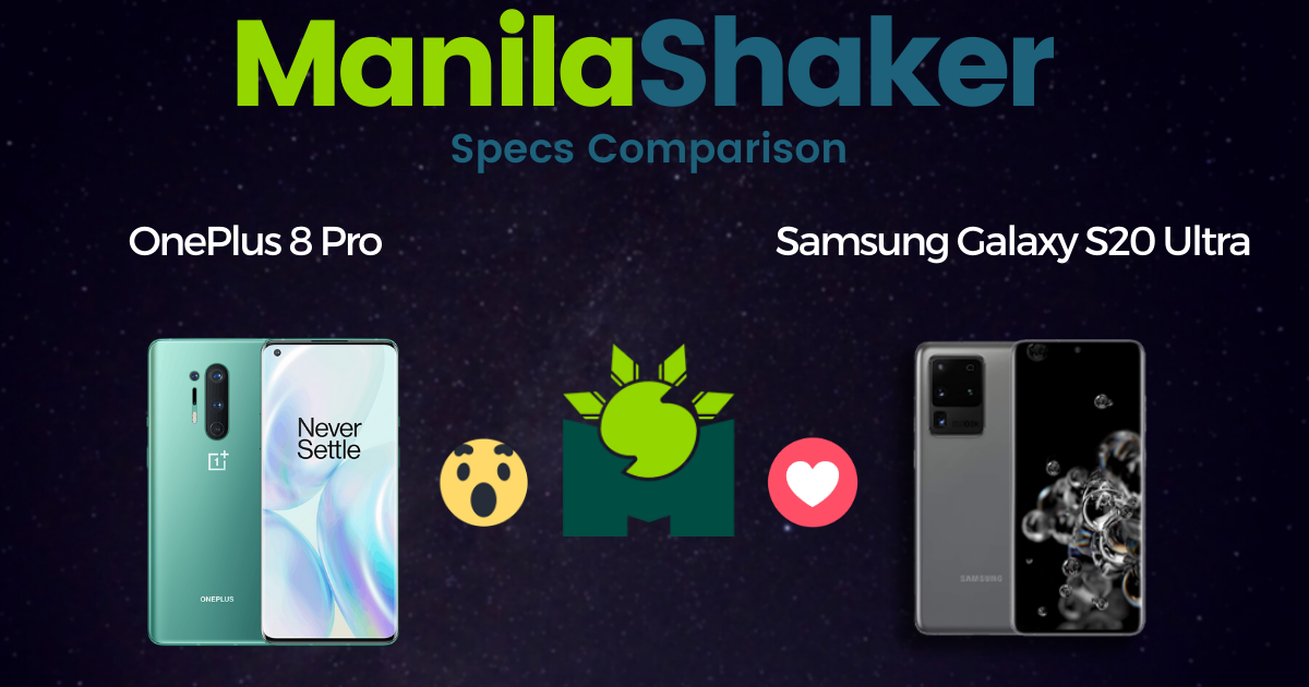 oneplus-8-pro-vs-samsung-galaxy-s20-specs-comparison-philippines
