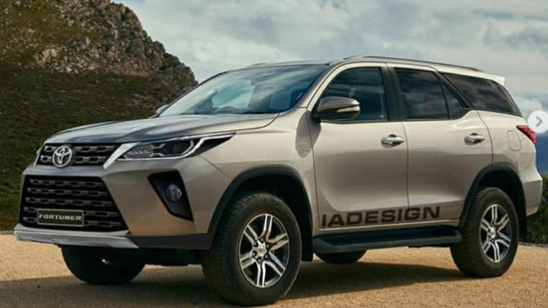 2021 Toyota Hilux and Fortuner final design leaked via ...