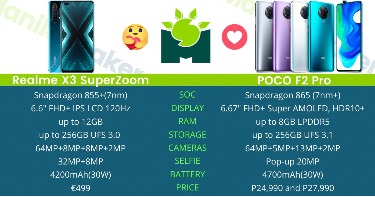 realme-x3-superzoom-vs-poco-f2-pro-specs-comparison-the-best-flagship-killer-2020