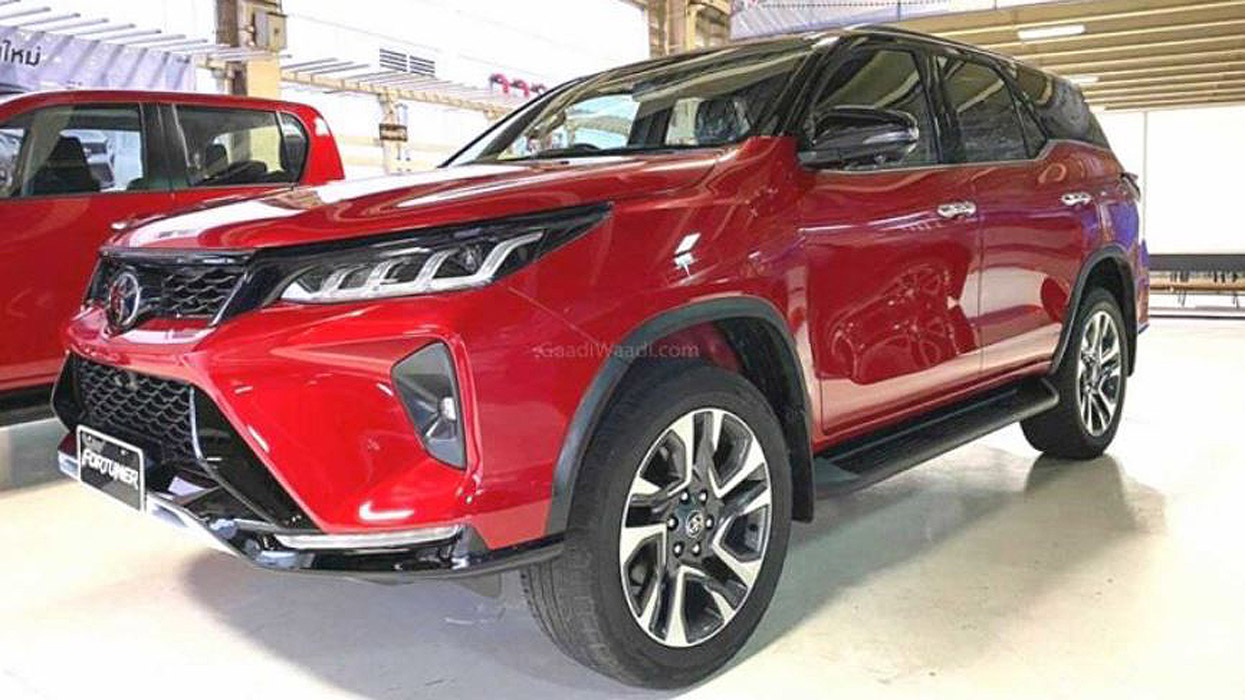 toyota fortuner legender 2021 is a beastly suv in real