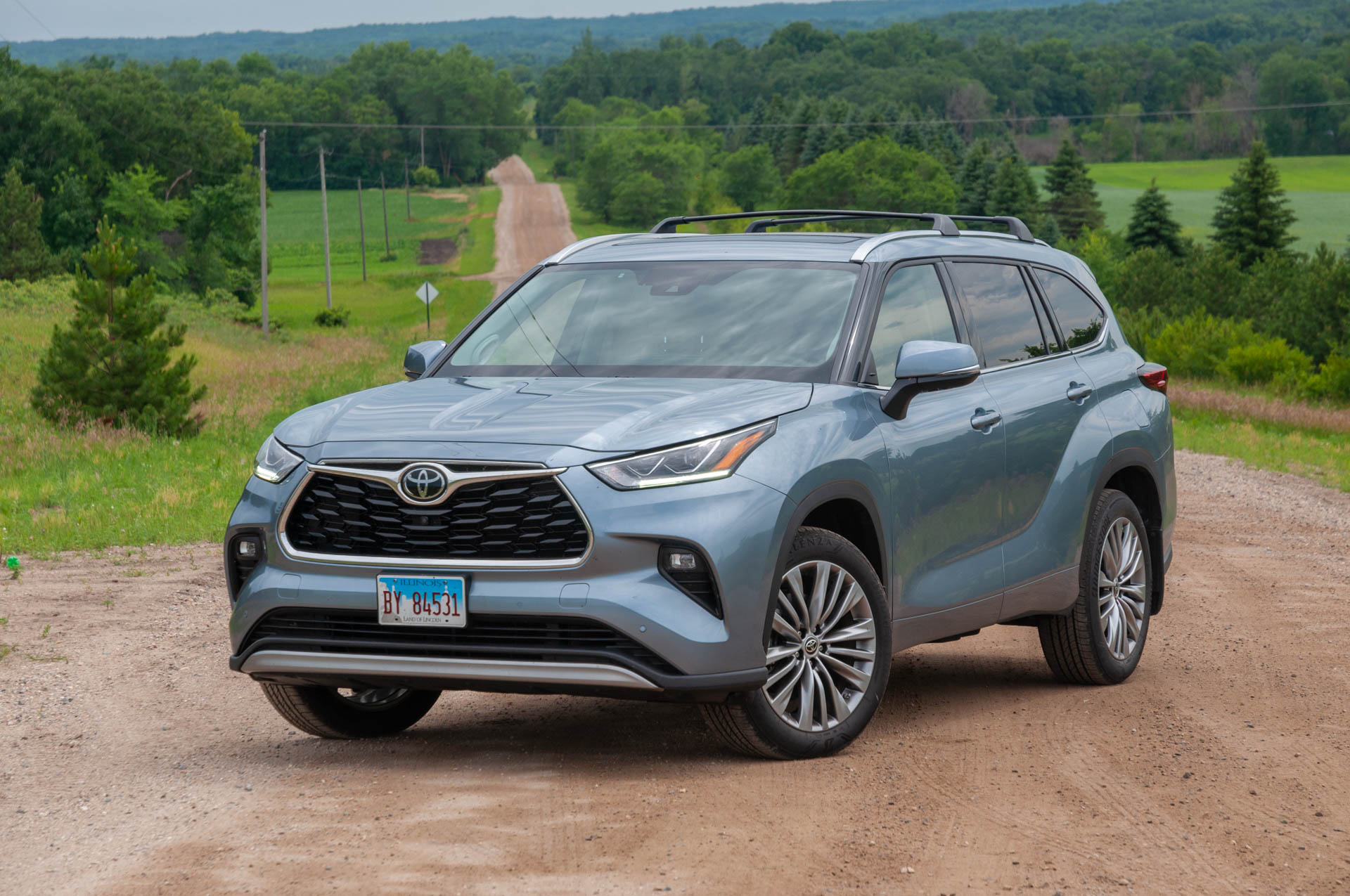 the 2020 toyota highlander platinum earns a participation