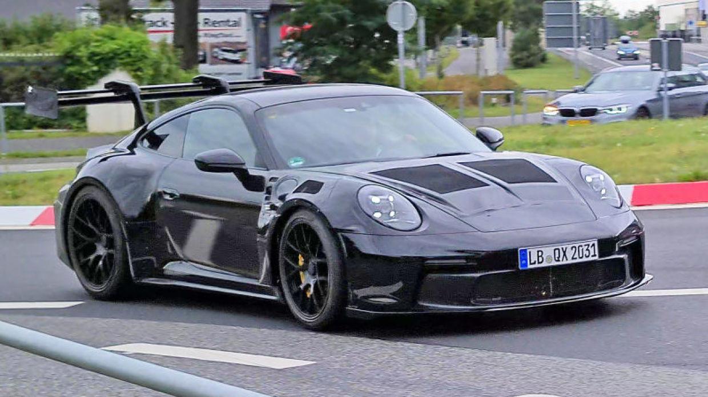 Porsche 911 Gt3 Rs Looks Like A Race Car In New Spy Photos