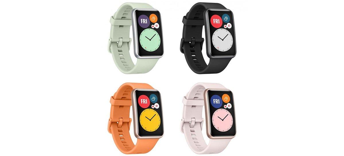 Huawei Watch Fit tem preços, especificações e imagens publicadas ...