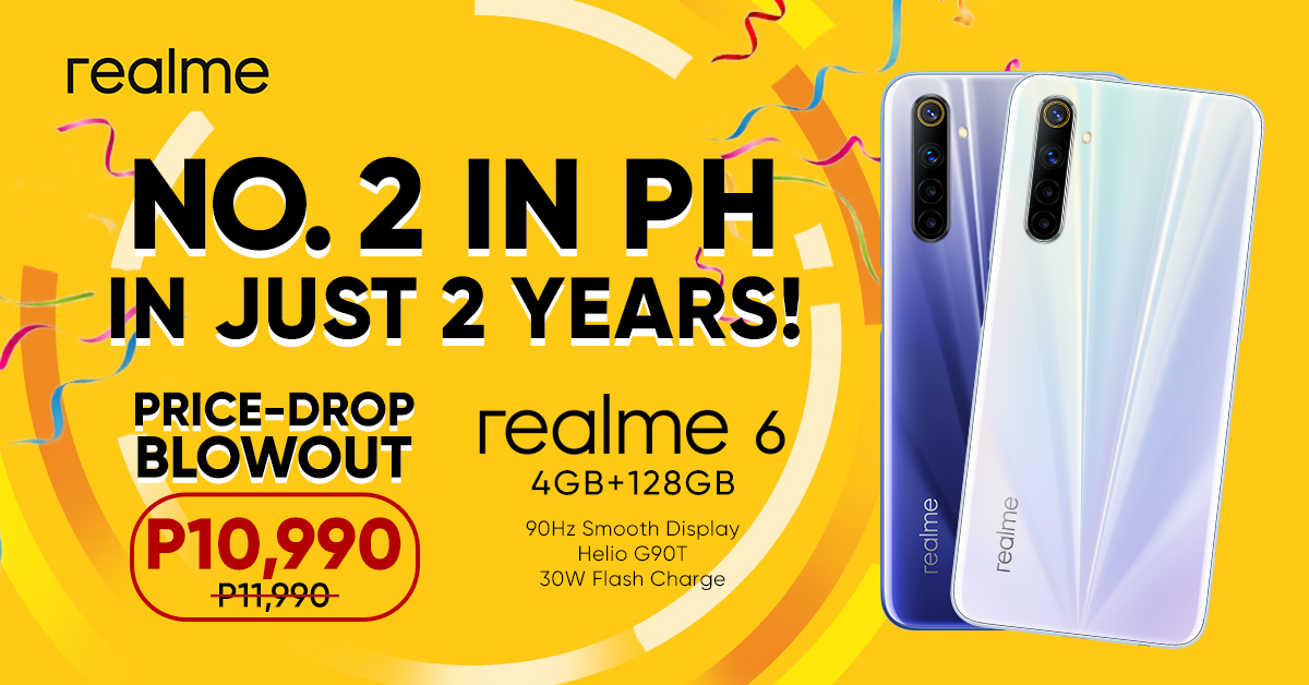 as-realme-celebrates-its-top-two-position-realme-6-drops-to-p10990-only