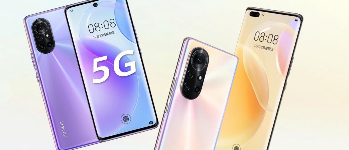 Huawei nova 8 and nova 8 Pro announced with Kirin 985 and 64MP quad cameras  - GSMArena.com news