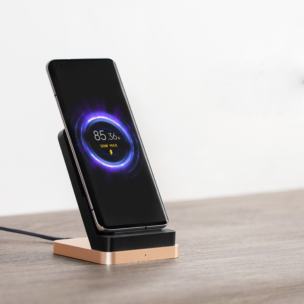 2020 New Xiaomi 55W Vertical Air-cooled Wireless Charger Max Flash Charging  Qi Stand Horizontal For Xiaomi 10 Pro For iPhone | Shopee Philippines