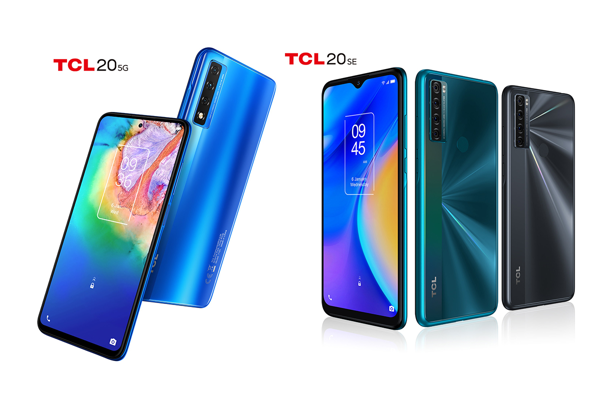TCL announces the TCL 20 smartphone series, starting with the TCL 20 5G and TCL  20