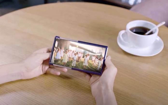TCL Rollable Display