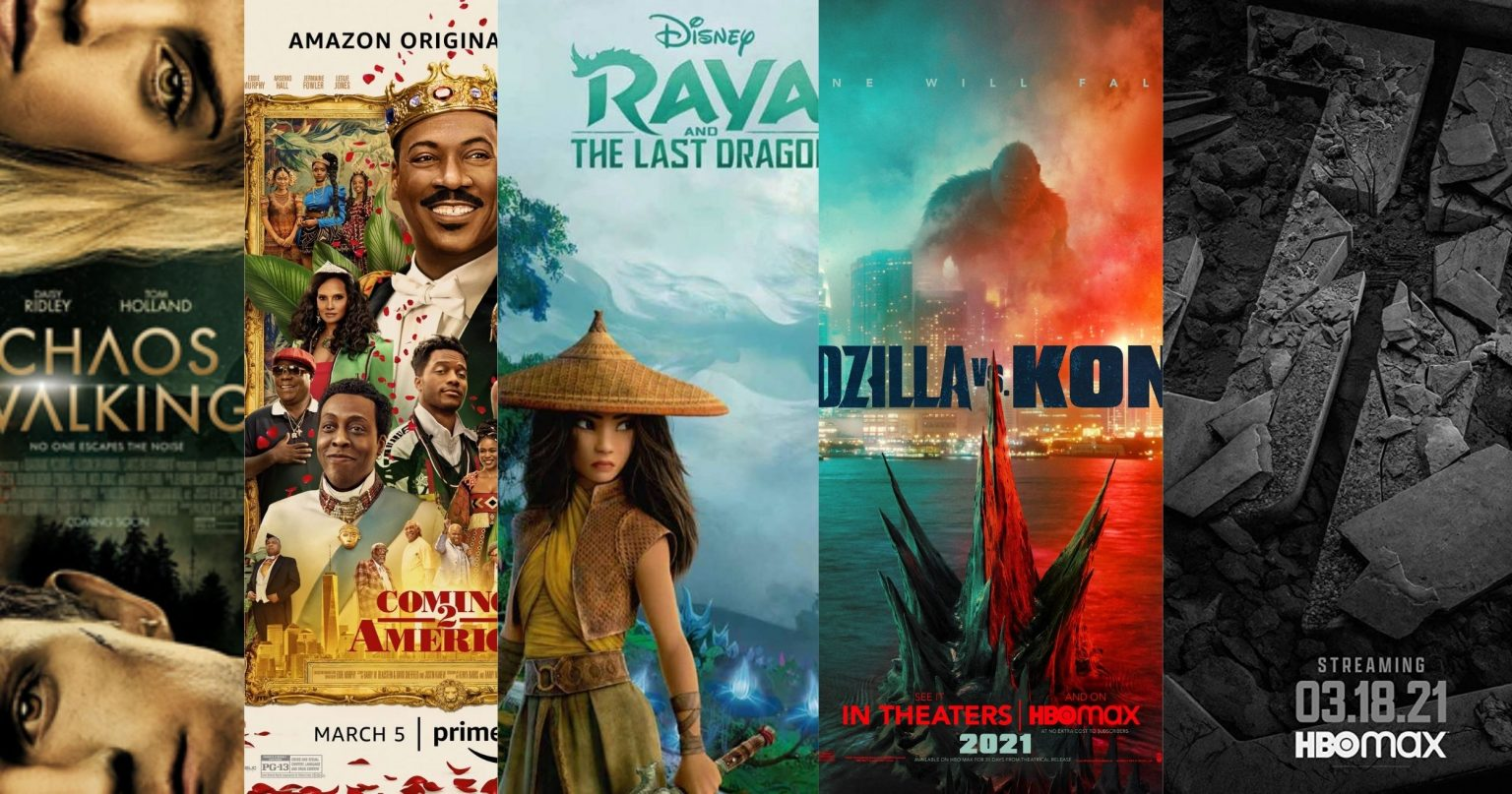 5 New Movie Releases on March 2021