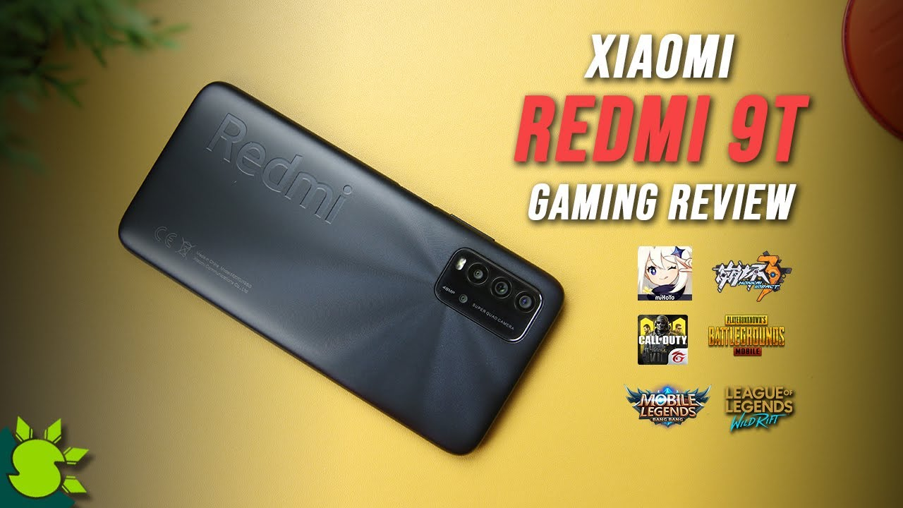REDMI 9T GAMING REVIEW - CAN IT PLAY GENSHIN IMPACT?